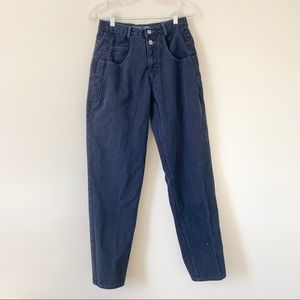 Vntg Navy Blue High Rise Guess Jeans